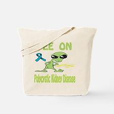 Pee on Polycystic Kidney Disease Tote Bag