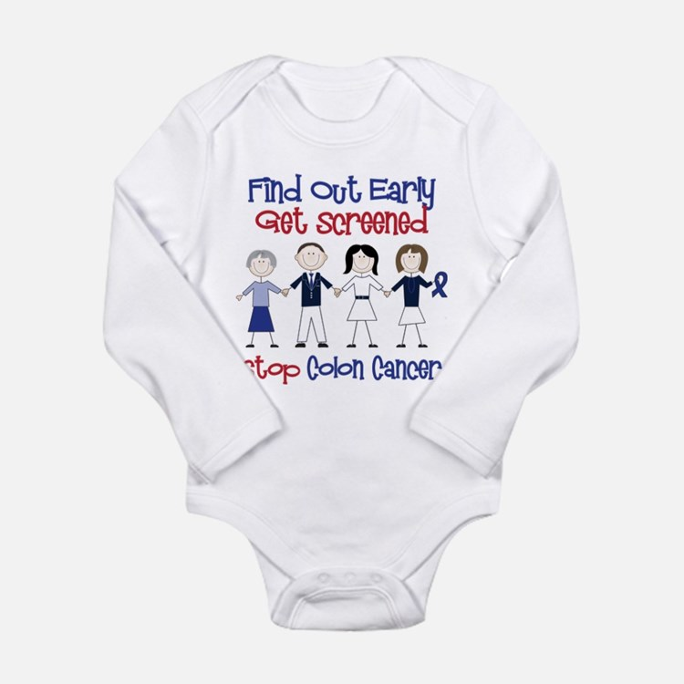 Get Screened Long Sleeve Infant Bodysuit