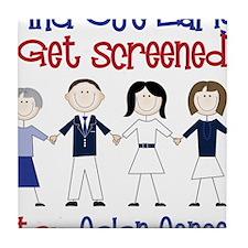 Get Screened Tile Coaster