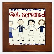Get Screened Framed Tile