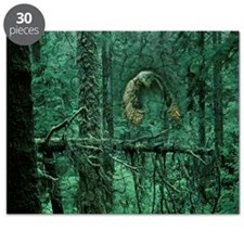 Green Woods Owl Puzzle