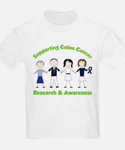 Supporting Colon Cancer T-Shirt