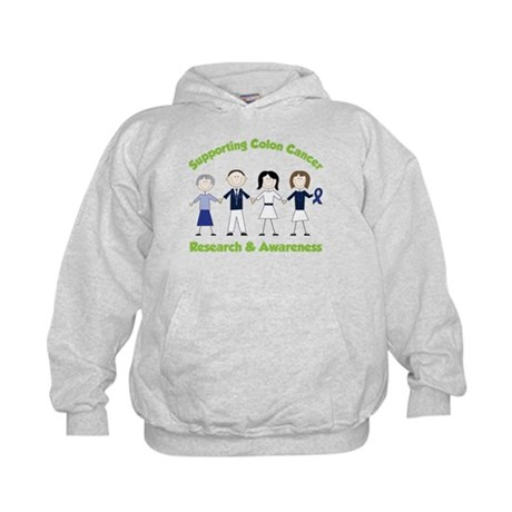 Supporting Colon Cancer Kids Hoodie