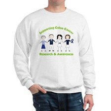Supporting Colon Cancer Sweatshirt