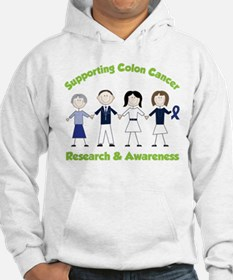 Supporting Colon Cancer Hoodie