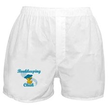 Bookkeeping Chick #3 Boxer Shorts