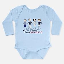 We Are Stronger Long Sleeve Infant Bodysuit