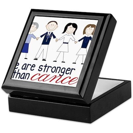 We Are Stronger Keepsake Box