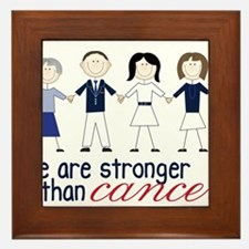 We Are Stronger Framed Tile