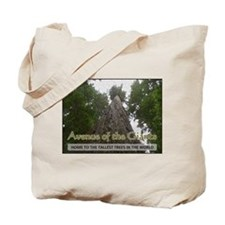 Founder's Tree Wide - Avenue of the Giants Tote Ba