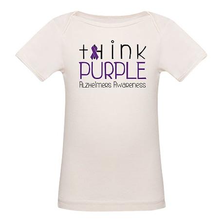 Think Purple Organic Baby T-Shirt