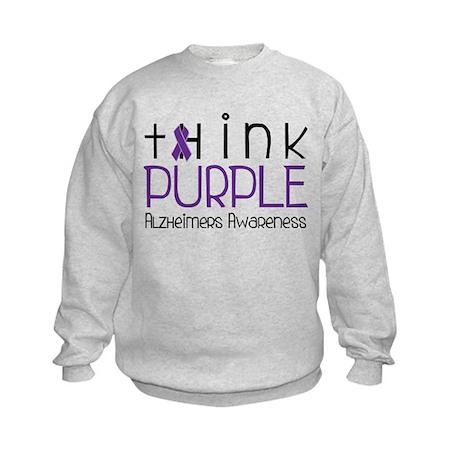Think Purple Kids Sweatshirt