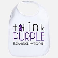 Think Purple Bib