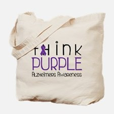 Think Purple Tote Bag