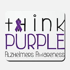 Think Purple Mousepad