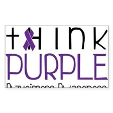 Think Purple Decal