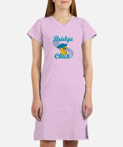 Bridge Chick #3 Women's Nightshirt