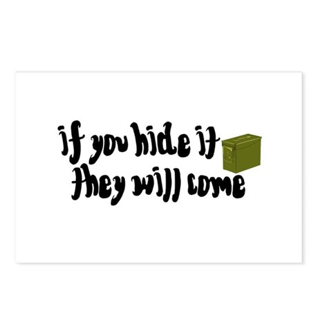 If You Hide It, They Will Come Postcards (Package
