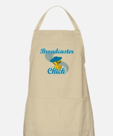 Broadcaster Chick #3 Apron