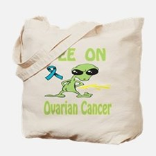 Pee on Ovarian Cancer Tote Bag