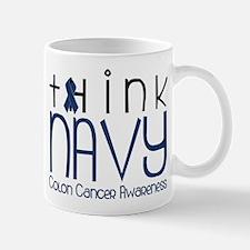Think Navy Mug