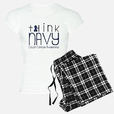 Think Navy Pajamas