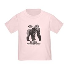 Do I look Protein Deficient? Toddler T-Shirt