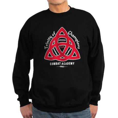 TCCA Logo white Sweatshirt (dark)