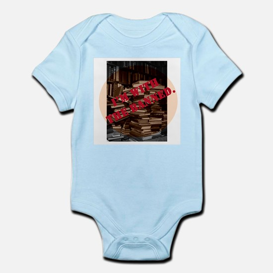 I'm with the Banned Infant Bodysuit