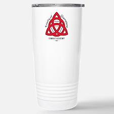 TCCA Logo Black Stainless Steel Travel Mug