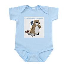 Could Chuck Wood Infant Bodysuit