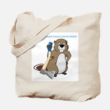 Could Chuck Wood Tote Bag