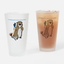 Could Chuck Wood Drinking Glass