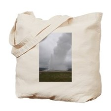 Old Faithful Geyser Yellowstone National Park Tote