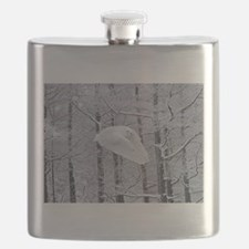 Snowy Owl, Praying Wings Flask