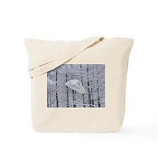 Snowy Owl, Praying Wings Tote Bag