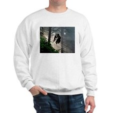 Owl flying out of forest Sweatshirt