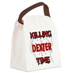 DEXTER Killing Time Canvas Lunch Bag