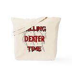 DEXTER Killing Time Tote Bag