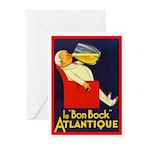Atlantique Greeting Cards (Pk of 10)