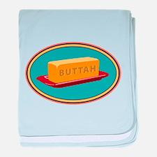 Buttah Dish baby blanket