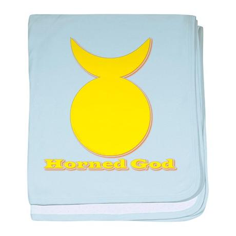 Horned God baby blanket