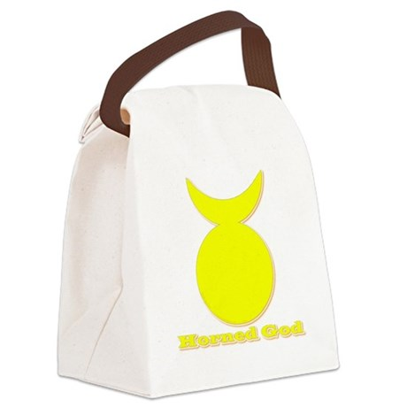 Horned God Canvas Lunch Bag