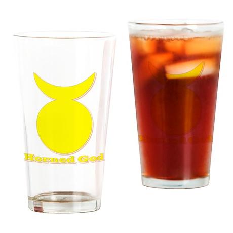 Horned God Drinking Glass