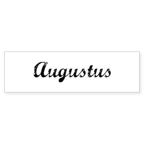 Vintage: Augustus Bumper Sticker