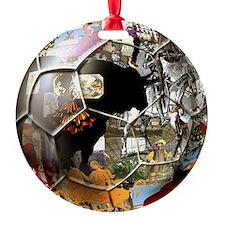 Spanish Culture Football Ornament