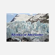Alaska is Awesome: Portage Glacier, USA Rectangle