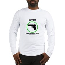 Support Legal Concealed Carry Long Sleeve T-Shirt
