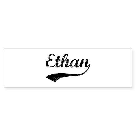 Vintage: Ethan Bumper Sticker