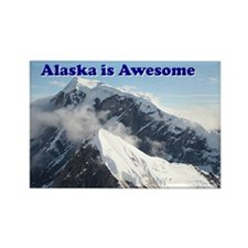 Alaska is awesome: Alaska Range, USA Rectangle Mag